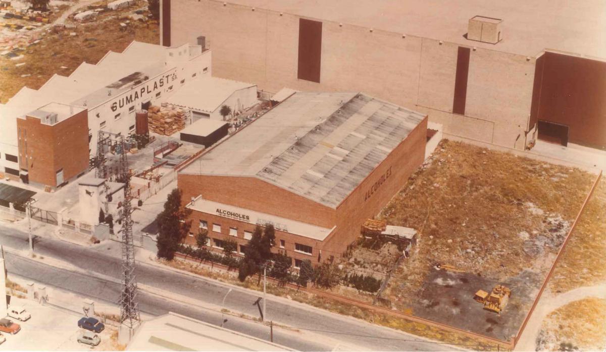 Foto de antiguas instalaciones en 1985.